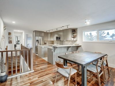 Photo for Beautiful Canmore Home with views and walk to DT
