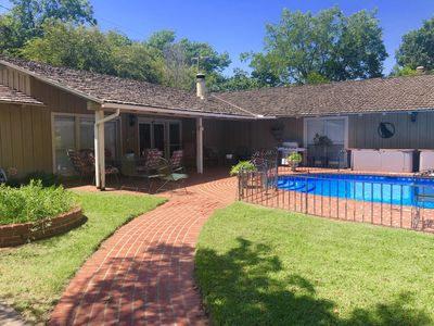 Photo for Stunning Poolside Guest House - Historic Morningside