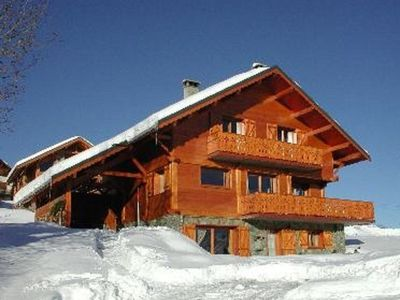 Photo for BEAUTIFUL APARTMENT IN INDIVIDUAL CHALET CLOSE TO CLASS 3 STAR TRACKS