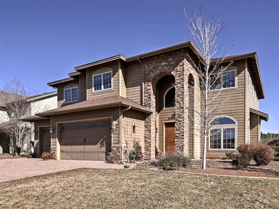 Photo for NEW! Flagstaff Area Home w/ Hot Tub & Tennis Table