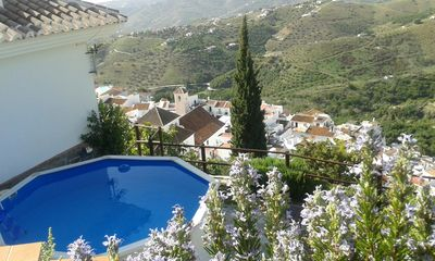 Photo for Country Villa near Frigiliana, fantastic views, private plunge pool.