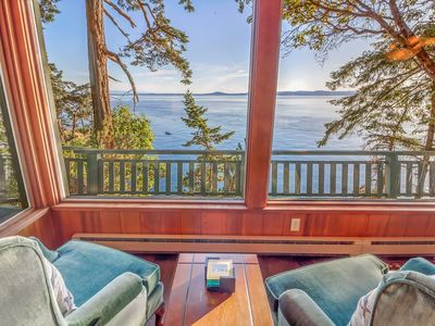 Photo for AMAZING NEW LISTING! Westside of San Juan Island!! Whale View Haven!