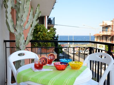Photo for Cozy comfortable apartment for families, even numerous, near the sea