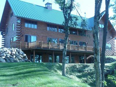 Photo for AMAZING LOG HOME OVERLOOKING LAKE SUPERIOR
