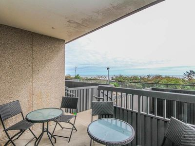 Photo for G105: 1st fl 2BR+den Sea Colony oceanfront condo! Steps to private beach & pools!
