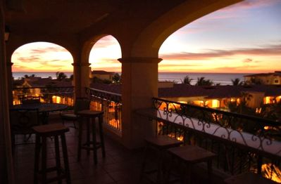 Watch the mesmerizing Mexican sunsets from our balcony!