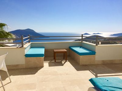 Photo for Large 3 bed detached villa, private pool, fully booked 2019, now taking 2020.