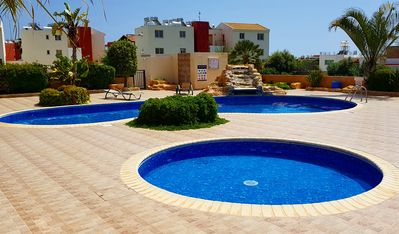 Photo for Paphos Modern 1 Bedroom Apt. (Sleeps 4) Not far from the harbour