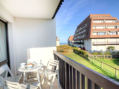 Photo for Cosy apartment for 4 guests with WIFI, TV, balcony and parking