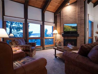 Photo for Top floor condo with a great Steamboat summer location.