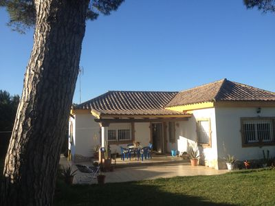 Photo for CHALET IN ZAHORA VERY QUIET AREA, BEAUTIFUL LANDSCAPES, WONDERFUL BEACHES
