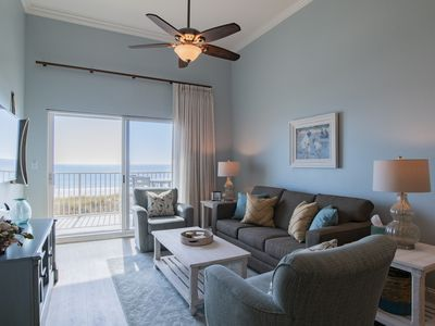 Photo for Beach Front Condo with Beautiful Gulf View