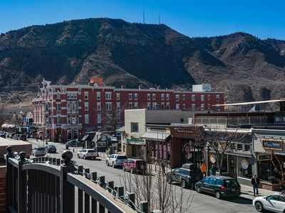 Photo for Luxury Condo Overlooking Historic Main Ave. - Great Deck and Mountain Views
