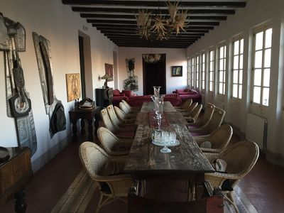Photo for Beautiful mansion, 70 km south of Barcelona, 8 km from the sea