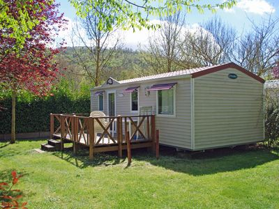 Photo for Mobilhome Tradition 3 bedrooms at Camping Sites & Paysages Le Moulin