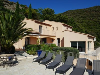 Photo for Completely renovated villa with exceptional sea and hill views