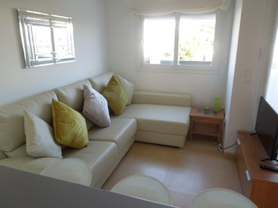 Photo for A lovely 2 bedroom, modern apartment with pool, Condado de Alhama, Golf nearby