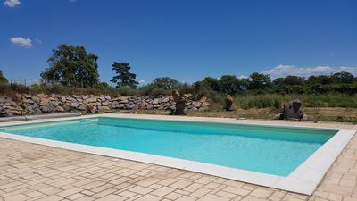 Photo for This is him! In the heart of Sardinia, private (covered) swimming pool, 8,000 m2 garden, full air conditioning