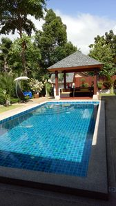 Photo for Lovely pool villa - 4 bedrooms and bathrooms