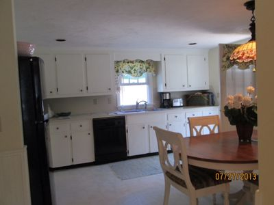Photo for Classic 3 BR Cape Cod home. 1 mile to Mayflower Beach