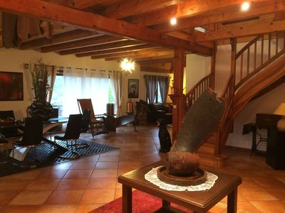 Photo for Beautiful 6 rooms apartment, Haute Savoie between Annecy and Thônes