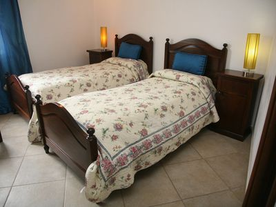 Photo for Double bedroom 3 with two single beds, with private bathroom