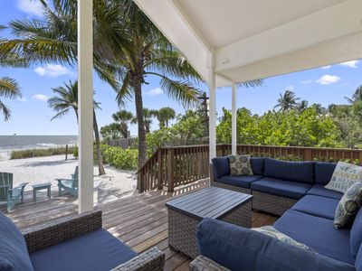 Photo for Sunset Cottage is a Private Beachfront Escape