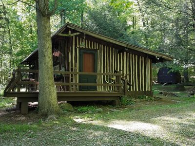 Photo for Adorable Cabin In The Woods/Minutes To Hershey Park and Mount Gretna