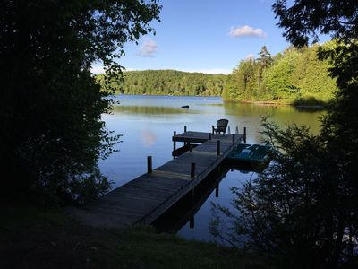 Photo for Lakefront, 5BR, Nature, 1 hr north of Montreal