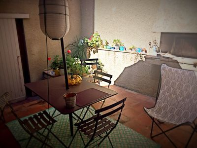"""Photo for """"The patio Maria"""" At the foot of the city, apartment with interior patio."""