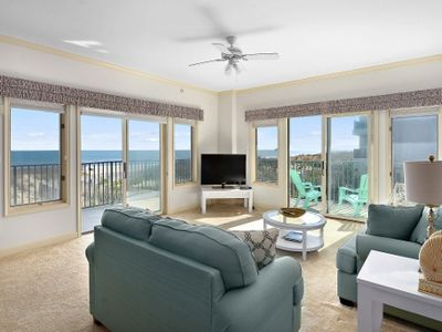 Photo for Gorgeous 3 Bedroom ocean front condo with private garage and wrap around deck