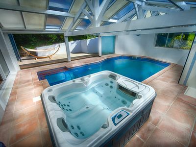 Photo for Biarritz / Hossegor. Large house, heated pool (8mx4m), jacuzzi, ocean ...