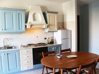 Photo for Spacious Ilaria apartment in Alghero with private terrace & balcony.