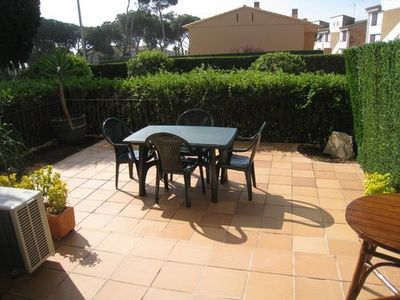 Photo for Apartment in Penya Golosa comunity, with pool and very close to the town center