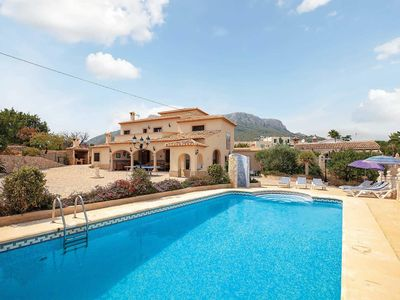 Photo for 8 bedroom Villa, sleeps 14 with Pool, Air Con and FREE WiFi