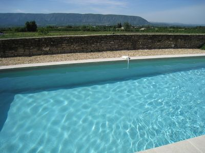 Photo for PROMO in AUGUST, authentic farmhouse, 4 km from GORDES, park LUBERON, PROVENCE