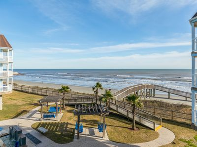 Photo for SeaScape Resort oceanfront condo w/shared hot tubs, heated pool & two balconies