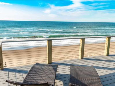Photo for Oceanfront Luxury with a Private Staircase to the Sea at Bella Beach!