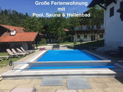 Photo for Large apartment including sauna, indoor pool, pool, up to 6 people from private!