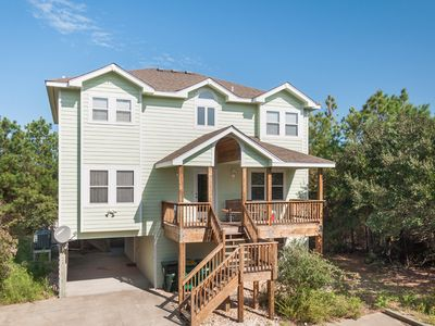 Photo for Almost Heaven: 7 BR / 4 BA house in Corolla, Sleeps 18