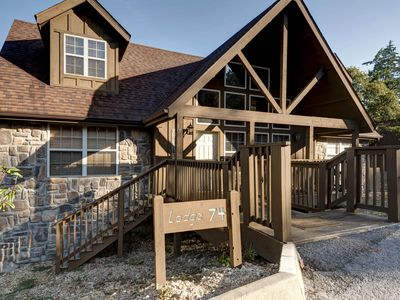 Photo for Quiet Creek Cabin - Spacious 4 Bedroom Cabin at beautiful Stonebridge Resort!