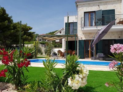 Photo for Villa Kornati with pool, 3 bedrooms and a beautiful sea view