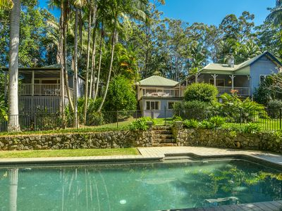 Photo for Expansive Beautiful home with pool and rainforested creek