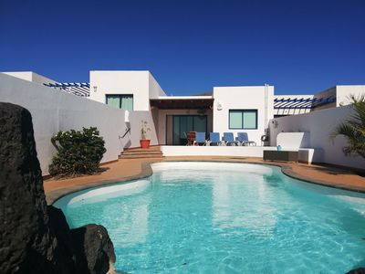 Photo for Villa Blanca Mirador with private heated pool, WiFi - Only 10 Minutes from the Beach