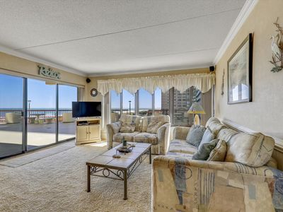 Photo for Newly-Updated Condo in N. OC - Gorgeous Views of the Ocean & Pool!