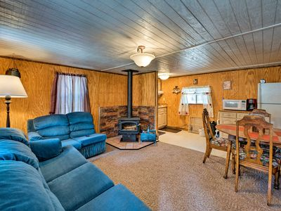 Photo for NEW! Pet Friendly Cloudcroft Cabin w/ Forest Views