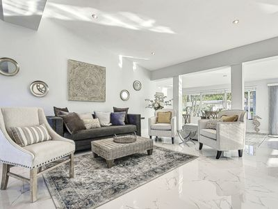Photo for Updated Modern Riverland Home w/ Pool & Game Room - 5 Miles to Beach