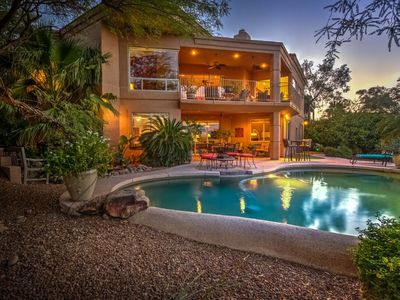 Photo for Luxury 5 bedroom Home in Fountain Hills AZ with heated pool
