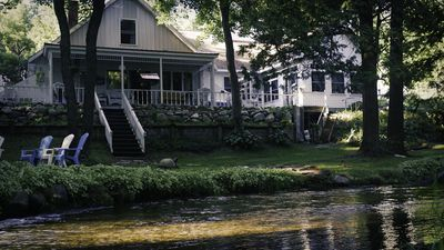 Photo for The Chickadee Lodge On The Little Manistee River