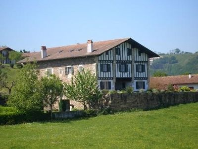 Photo for Sare, character apartment of 400 sqm in typical Basque house 6 bedrooms